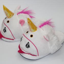 Женские тапочки-игрушки kronos top единороги размер 36-39 (stet_1230)