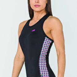 Женская спортивная майка radical reaction ii tank top с ромбами m (r0855)
