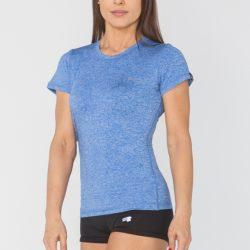 Женская спортивная футболка radical capri sg s голубая (r0842)