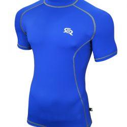 Футболка спортивная radical spin м синий (r0338)
