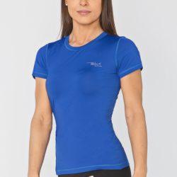 Женская спортивная футболка radical capri s синяя (r0830)