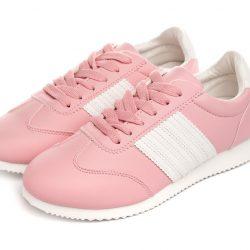 Кросівки жіночі casual classic 37, 38, 40 pink-white (822-3 3)