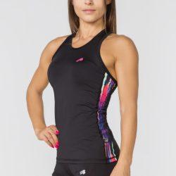 Женская спортивная майка radical reaction ii tank top с полосами l (r0853)