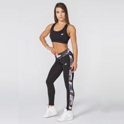 Женские спортивные леггинсы radical valiant m черные (r0912)