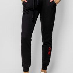 Спортивные штаны женские кокон 24:04 xs черные (kjw 26.24.02_xs/170)