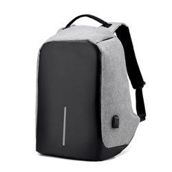 Городской спортивный рюкзак bag usb серый (in-76)