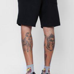 Спортивные шорты мужские кокон 24:04 l черные (kjm 28.04.02_l/176)