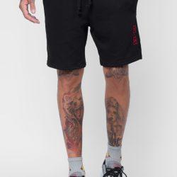 Спортивные шорты мужские кокон 24:04 s черные (kjm 28.06.02_s/176)