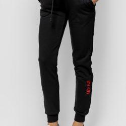 Спортивные штаны женские кокон 24:04 l черные (kjw 26.23.02_l/170)