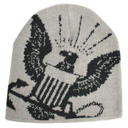 Шапка eagle crest watch navy woven lt grey (80855)