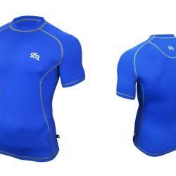 Футболка спортивная radical spin xxl синий (r0341)