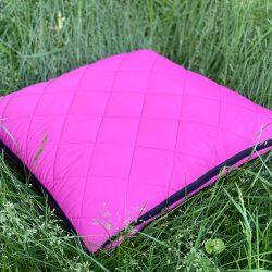 Плед-подушка-палантин трансформер ukraine 3в1 розовый (0130)
