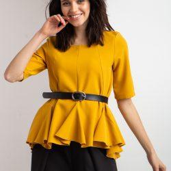 Блуза garne zoya желтая (3035167-2)