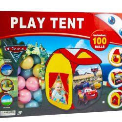 Детская игровая палатка с шариками «cars» (1708886071)