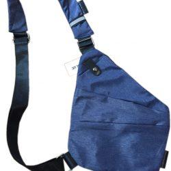 Мужская cумка-месенджер cross body темно-синий (hbp050323)