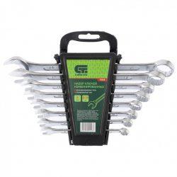 Набор ключей комбинированных сибртех 8-19 мм crv 8 штук (15448)