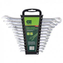 Набор ключей комбинированных сибртех 6-22 мм crv 12 штук (15452)