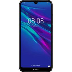 Huawei y5 2019 black faux leather 51093sha (9707893)