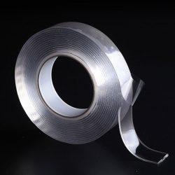 Многоразовая сверхсильная клейкая лента ivy grip tape 3 м прозрачная (hbp65422)