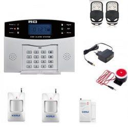Комплект сигнализации kerui gsm pg500 для 2-х комнатной квартиры (hfjgf89fkf)