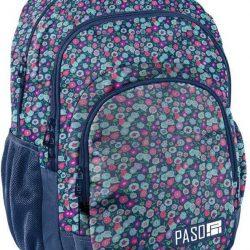 Городской рюкзак paso синий (18-2706kw)