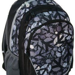 Рюкзак paso 21 л черный/серый (15-367c)