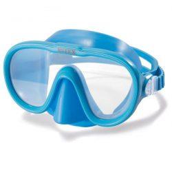 Маска для плаванья intex 55916 sea scan swim masks голубая (us00392)
