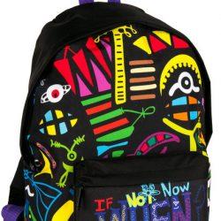 Рюкзак paso молодежный 15 л разноцветный (bdd-220)