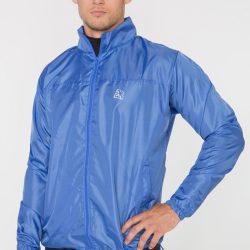 Мужская ветровка-дождевик с капюшоном radical flurry m синий (r0533)
