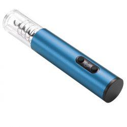 Электрический штопор resteq на батарейках для вина синий (899406513)