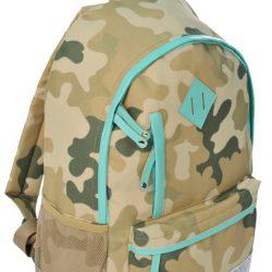 Молодежный рюкзак paso 18 л хаки (cm-182c)