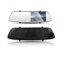 Зеркало заднего вида с видеорегистратором trends dvr a23 зеркало с двумя камерами (4164)
