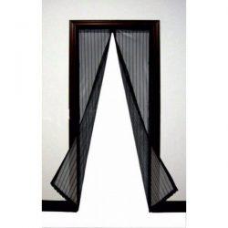 Антимоскитная сетка штора на магнитах magic mesh на двери (м7924)