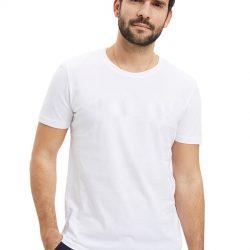 Однотонная футболка svtr 48 белый