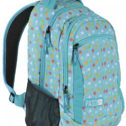 Городской рюкзак paso 22 л разноцветный (17-2808ub)