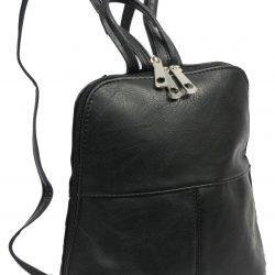 Женский рюкзак 4u cavaldi кожзам 6 л черный (pc-1a-2)