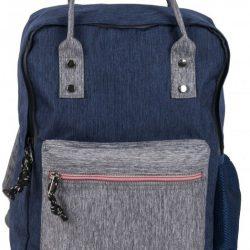Рюкзак paso синий (17-195n)