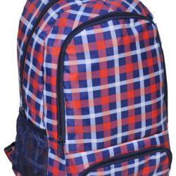 Рюкзак paso в клетку 21 л разноцветный (15-8122a)