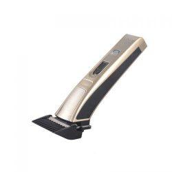 Машинка для стрижки волос беспроводная kemei km 5017 серебристый (007215)