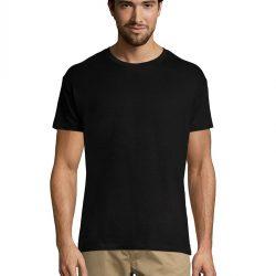 Однотонная футболка svtr 48 черный