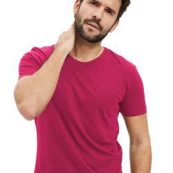 Однотонная футболка svtr 48 розовый (58 48 марун)