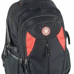 Молодежный рюкзак paso 28 л черный (17-30059)
