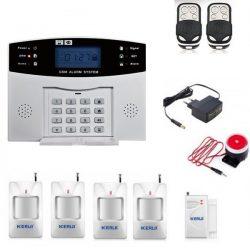 Комплект сигнализации kerui gsm pg500 для 4-х комнатной квартиры (djgkfdf89dfgjj)