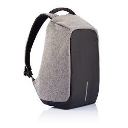 Рюкзак антивор bobby с защитой от карманников с usb портом серый