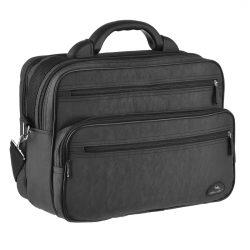 Мужская сумка wallaby 36х26х16 см черный (в 2653ч)