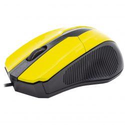 Мышь компьютерная apedra m3 проводная yellow (3234-9644)