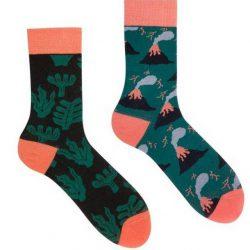 Мужские носки sammy icon mauna loa 40-46 зеленые (009071)