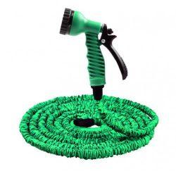 Садовый шланг magic hose 7.5 м зеленый (258487)