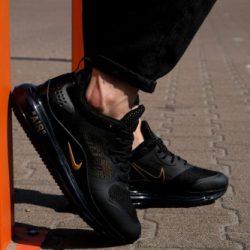 Кроссовки мужские реплика nike air max 720 40 black orange (hub_7k1hvf)