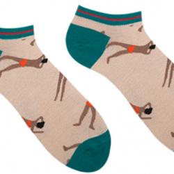 Мужские короткие носки sammy icon bari short 40-46 кремовые (009569)